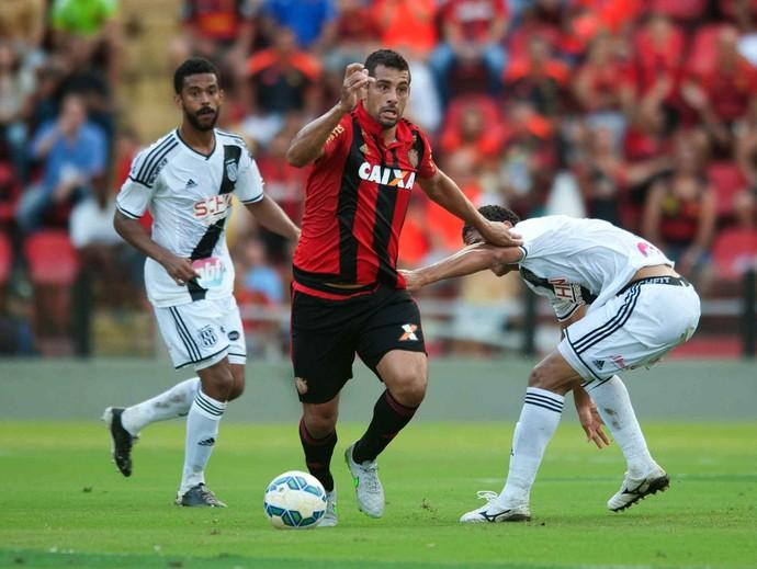 Sport x Ponte Preta (Foto: Aldo Carneiro / Pernambuco Press)