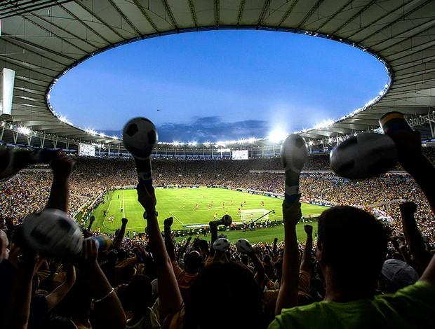 Estádio Maracanã FOTO BOA (Foto: Agência AP)
