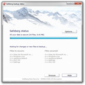 Safeberg Backup