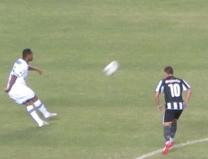 Botafogo x Botafogo-PB pela Copa do Brasil (Foto: Gustavo Rotstein)
