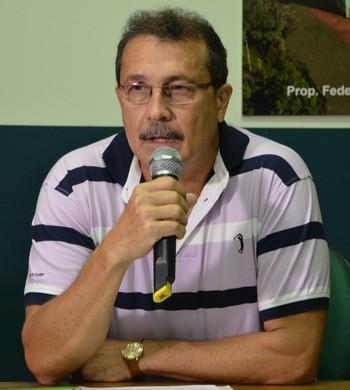 Presidente do Atlético-AC, Edson Izidório (Foto: Duaine Rodrigues)