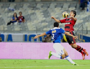 Marcelo Moreno Flamengo x Cruzeiro (Foto: Cristiane Mattos / Ag. Estado)