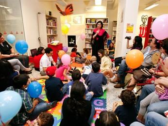 Projeto Cuentacuentos do Instituto Cervantes pretende divulgar o idioma e a cultura espanhola para crianças (Foto: Alan Santos/Divulgação)