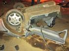 Dois morrem após carro bater em árvore e partir ao meio em Cuiabá