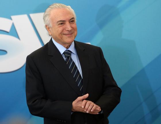 O presidente Michel Temer  (Foto:  José Cruz/ABR)