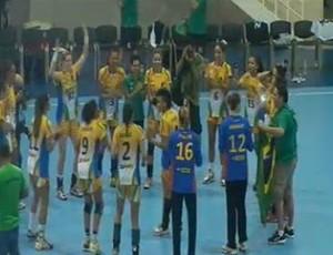 Brasil vence Pan Americano de Handebol sobre a Argentina na República Dominicana (Foto: Reprodução/Site oficial)