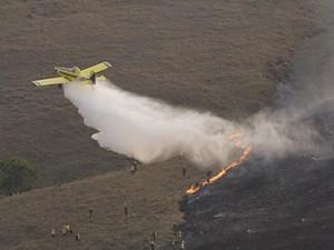 Novo foco de incêndio é registrado na Serra da Canastra  (Foto: Joe Stevens/BBC)