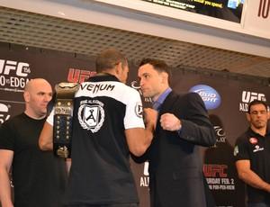 José Aldo x Frankie Edgar UFC (Foto: Adriano Albuquerque / SporTV.com)