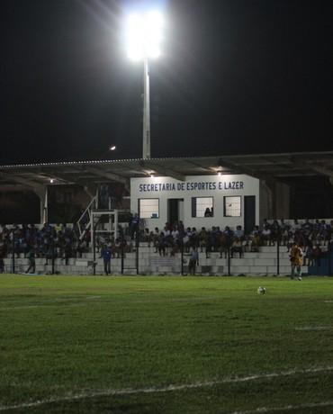 Estádio Pedro Alelaf, Parnaíba  (Foto: Josiel Martins)