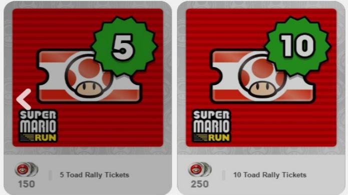 Super Mario Run: resgate os itens no site do MyNintendo (Foto: Reprodução / Thomas Schulze)