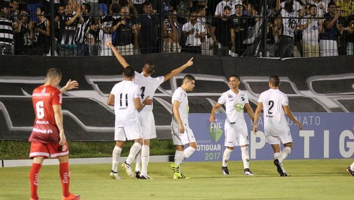 ABC x América-RN, no Estádio Frasqueirão - Campeonato Potiguar (Foto: Andrei Torres/ABC FC/Divulgação)
