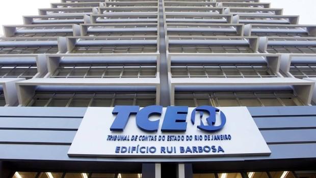 Fachada do Tribunal de Contas do Rio de Janeiro (TCE-RJ) (Foto: Divulgação)