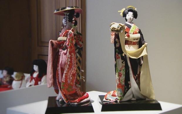 """Exposição """"Bonecos do Japão"""" foi destaque na Agenda deste sábado (9) (Foto: Rede Amazônica)"""