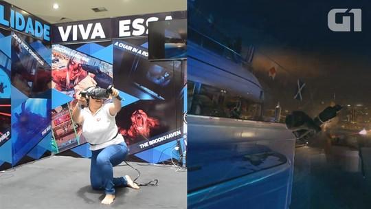 G1 testou 'John Wick', um dos mais jogados em realidade virtual no AP