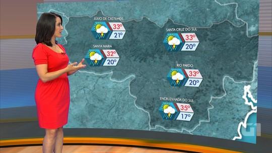 Novembro deve começar com chuva em todas as regiões do RS