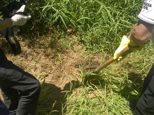 Amigo de cunhado da vítima ajudou polícia a localizar cova (Foto: Divulgação/Polícia Civil)