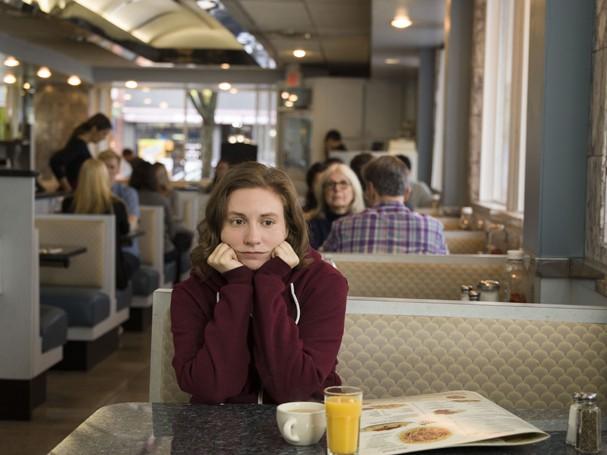 """Hannah (Lena Dunham) no último episódio de """"Girls"""" (Foto: Reprodução/Instagram)"""