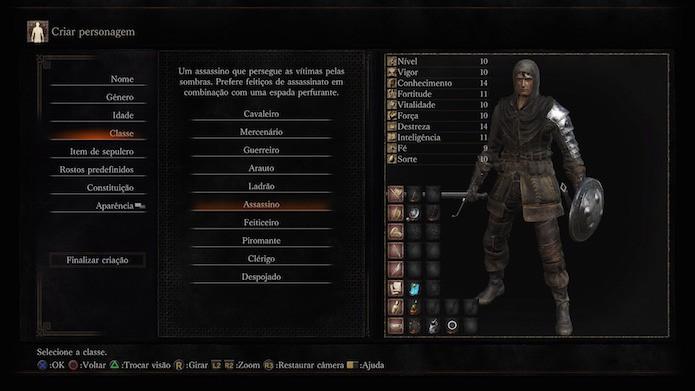 Dark Souls 3: assassino (Foto: Reprodução/Victor Teixeira)