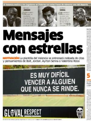 Diário Marca, Ayrton Senna motivação Valencia (Foto: Reprodução)