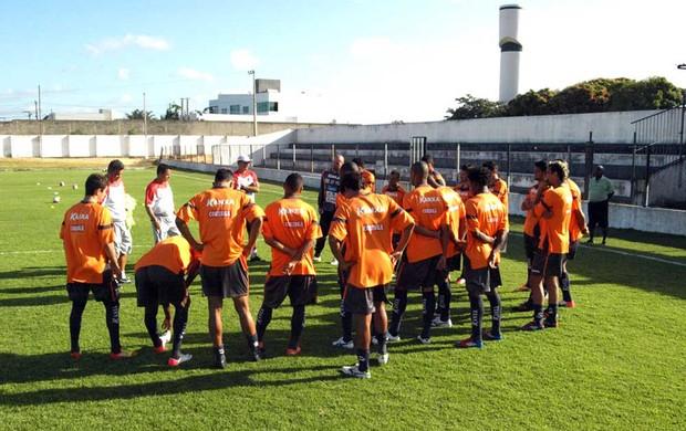 Davino treino CRB (Foto: divulgação / CRB)