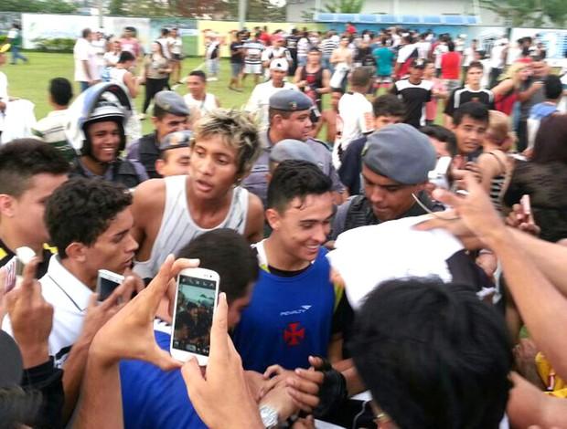 Montoya Treino Vasco Manaus (Foto: Raphael Zarko)