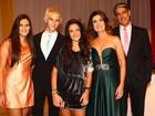 Fatima Bernardes, Willian Bonner e outros famosos vão a festa da nova programação da TV Globo