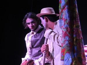 Solânea recebe o espetáculo 'Uns causos de um andarilho' (Foto: Eduardo Araújo/Divulgação)