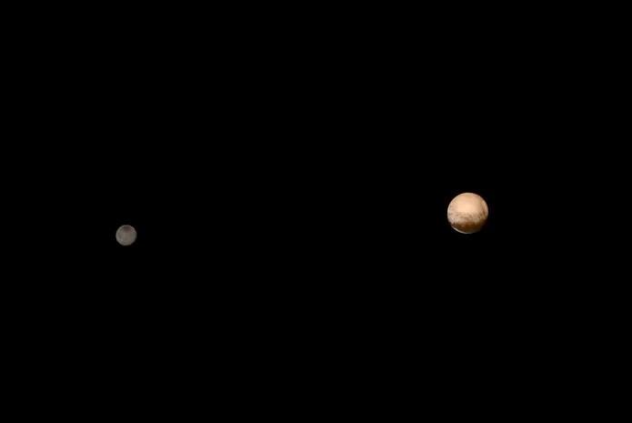 Imagens mostram superfície e tamanho de Plutão  (Foto: NASA/JHUAPL/SWRI) (Foto: Imagens mostram superfície e tamanho de Plutão  (Foto: NASA/JHUAPL/SWRI))