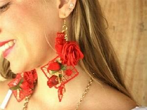 Brincos são inspirados no estilo gipsy (Foto: Arquivo pessoal/Marcela Tenório)