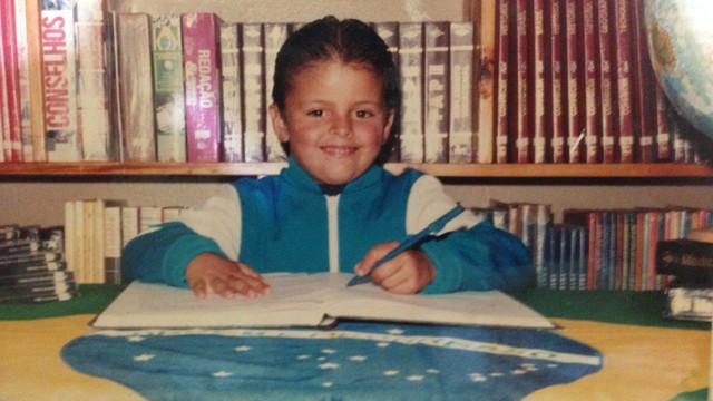 Lucas Neves lembra até hoje do primeiro dia de aula (Foto: Lucas Neves/Arquivo pessoal)