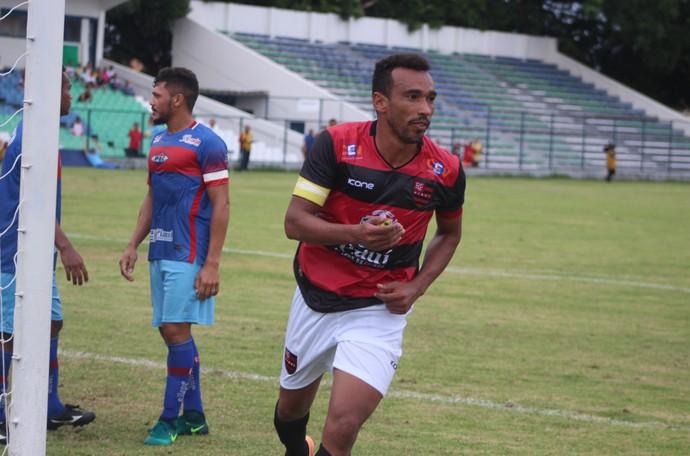 Eduardo Piauí x Flamengo-PI Campeonato Piauiense 2017 (Foto: Renan Morais )
