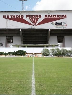 Estádio Pedro Amorim (Foto: Folha do Estado/Bahia)