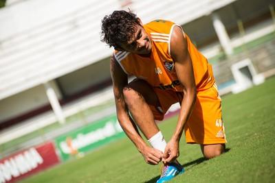 Gustavo Scarpa Fluminense (Foto: Site oficial do Fluminense)