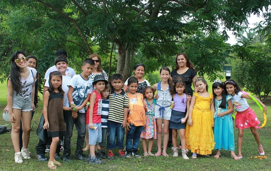 Dezesseis crianças participaram das gravações (Foto: Katiúscia Monteiro/ Rede Amazônica)