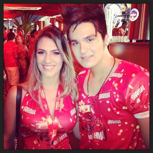 Luan e namorada (Foto: Reprodução/Instagram)
