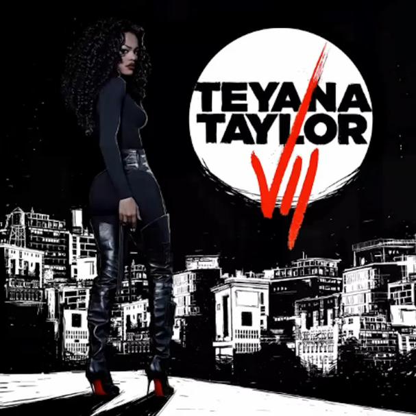 """Teyana já lançou um disco chamado """"VII' (Foto: Divulgação)"""
