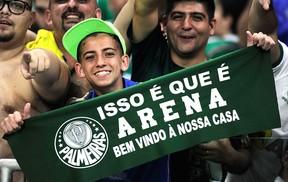 Torcida - Arena Palmeiras - Palmeiras X Sport