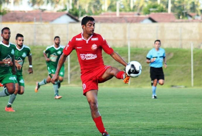 América-RN x Palmeira-RN Estádio Barretão Campeonato Potiguar (Foto: Canindé Pereira/Divulgação)