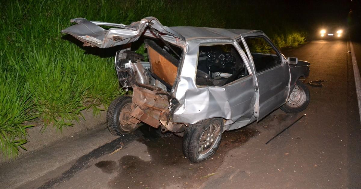 Motorista embriagado provoca acidente e foge sem prestar socorro - Globo.com