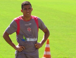 Allan treino Vasco (Foto: Gustavo Rotstein / Globoesporte.com)
