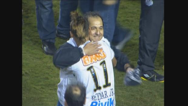EE: Neymar fala sobre Muricy na série 'Os Professores' (rede globo)
