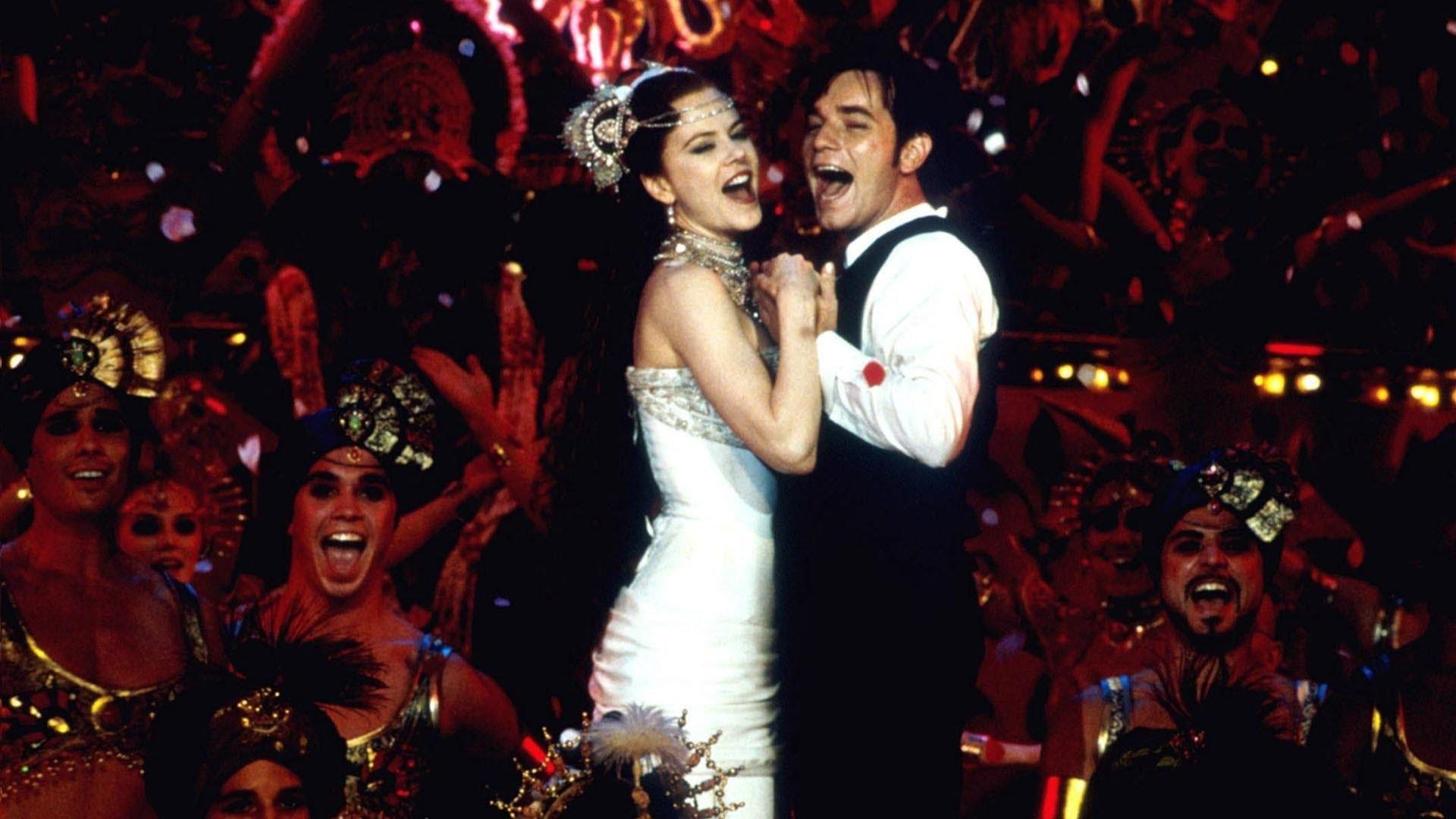 Nicole Kidman e Ewan McGregor em 'Moulin Rouge: Amor em Vermelho' (Foto: Divulgação)