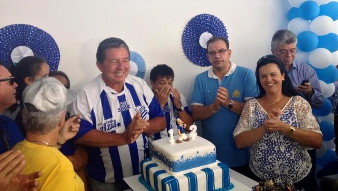 Aniversário CSA (Foto: Viviane Leão/GloboEsporte.com)