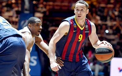 Marcelinho Huertas jogo basquete  FC Barcelona  (Foto: EFE)