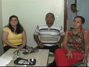 Médicos cubanos chegam a Amarante do Maranhão (Foto: Reprodução/TV Mirante)