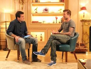 Beckham no Esporte Espetacular4 (Foto: Jefferson Rodrigues / TV Globo)