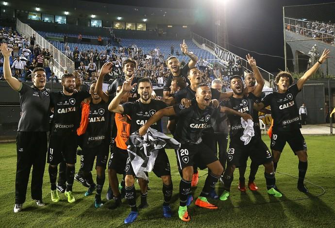 Botafogo, Pimpão, Guilherme, Camilo (Foto: Vitor Silva/SSPress/Botafogo)