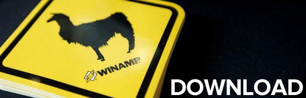 Era pós-mp3: músicas por download (Foto: Divulgação/Winamp)