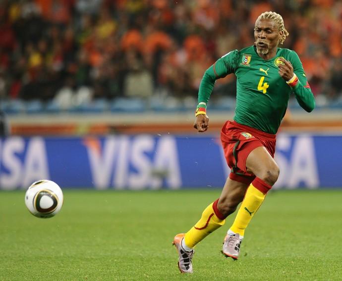 Rigobert Song Copa do Mundo 2010 (Foto: CARL DE SOUZA / AFP)
