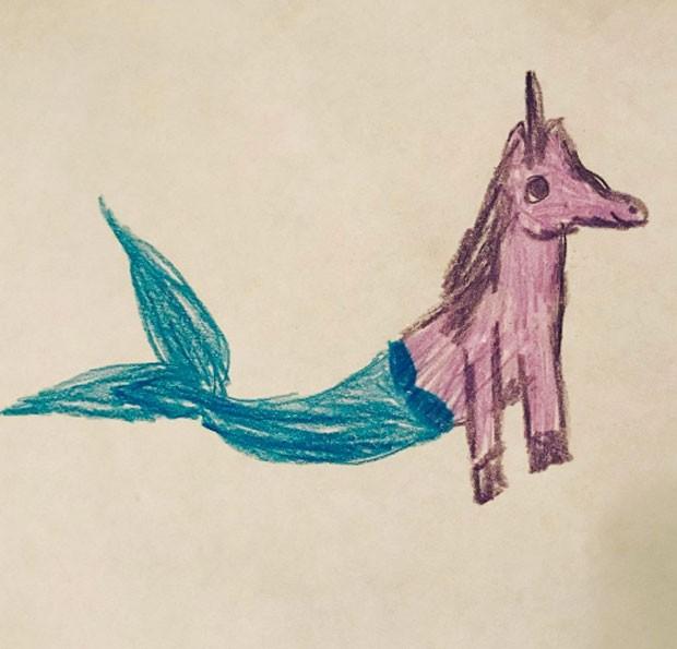 Desenhos de Nina (Foto: Reprodução)